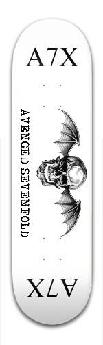 Avenged Sevenfold Banger Park Skateboard 8.5 x 32 1/8
