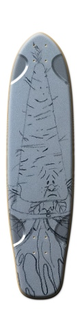 Wood Elf Tallboy Skateboard Deck