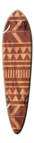 Tribal Wood Dart Skateboard Deck