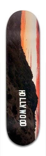 The Hills Banger Park Skateboard 8 x 31 3/4