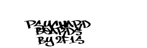 Psych Ward Boards Sticker 11.5  x 3.75 Bumper Sticker
