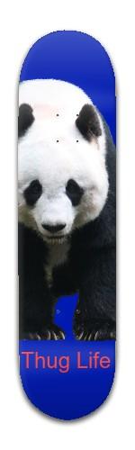 Panda thug Banger Park Skateboard 8 x 31 3/4