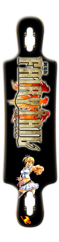 Fairy Tail Lucy B52 Complete Longboard