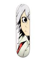 juzzou skateboard #1 Park Skateboard 8 x 31 3/4