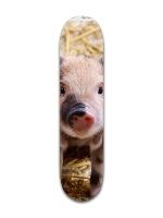 Pig life matters Park Complete Skateboard 7 3/8 x 31 1/8