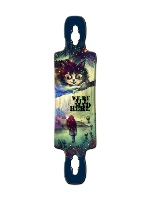 acid in wonderland Gnarlier 38 Skateboard Deck v2