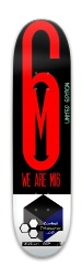 Wearemi6 Music Innovators Limited E Park Skateboard 7.88 x 31.495
