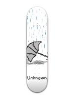Rain Park Skateboard 7 7/8 x 31 5/8