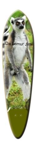 The Lemur Jim Dart Skateboard Deck
