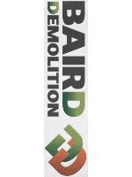 Baird logo Custom skateboard griptape