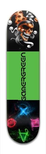 GamerGreen Park Skateboard 7 7/8 x 31 5/8