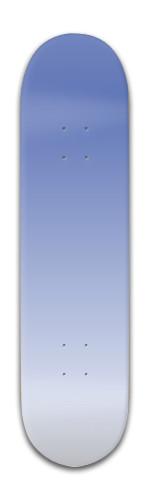 blue white Park Skateboard 8 x 31 3/4