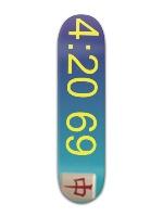 Nic#1 Park Skateboard 8 x 31 3/4