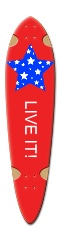 LIVE IT Dart Complete Skateboard Deck v2