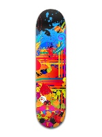 Paint Mix - Faul Park Skateboard 8 x 31 3/4