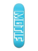 MOTIF | Blue&White Park Skateboard 8 x 31 3/4