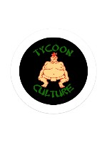 Sumo Llord Grn Sticker 4 x 4 Circle