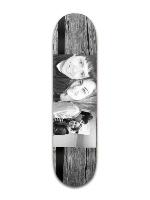Black and white Park Skateboard 8 x 31 3/4