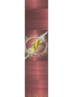 The Flash Custom longboard griptape