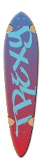 Trexy Dart Complete Skateboard Deck v2