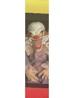 Creepy clown Custom longboard griptape