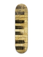 Music is Life Park Skateboard 8 x 31 3/4