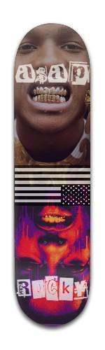 ASAP Rocky Grillz Banger Park Skateboard 8 x 31 3/4
