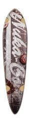 Nuke Cola Dart Complete Skateboard Deck v2