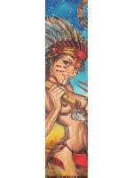 Boosted board Indian girl Custom longboard griptape