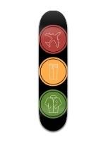 blink 182 Banger Park Skateboard 7 3/8 x 31 1/8