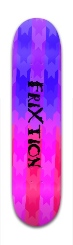 FriXtion-Flag Banger Park Skateboard 7 3/8 x 31 1/8