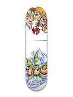 Crazy 420 Banger Park Skateboard 8 x 31 3/4