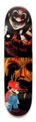 dead mario Park Skateboard 8.5 x 32.463