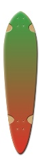 Longboard1 Dart Skateboard Deck v2