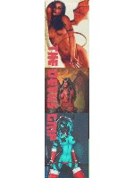 the devils lady Custom skateboard griptape