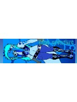 blue creature Sticker 11.5  x 3.75 Bumper Sticker