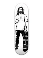 Jesus can and will Banger Park Skateboard 8.5 x 32 1/8