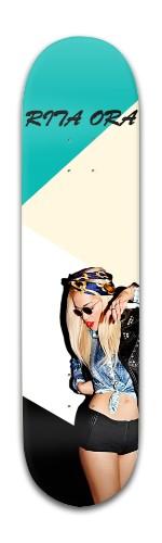 Rita Ora (8inch Skateboard) Banger Park Skateboard 8 x 31 3/4