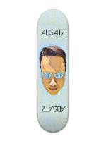 Alex Absatz Woke Banger Park Skateboard 8 x 31 3/4