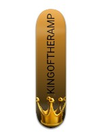 KINGOFTHERAMP Banger Park Skateboard 8 x 31 3/4