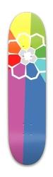 Rainbow badge Park Skateboard 7.88 x 31.495