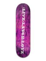 #live#laugh#love Banger Park Complete Skateboard 8.5 x 32 1/8