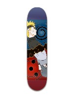 Naruto vs. Sauske Banger Park Skateboard 7 3/8 x 31 1/8
