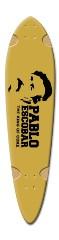 pablo escobar Dart Skateboard Deck v2