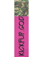 kicflip.god Custom skateboard griptape