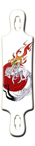 Okami rising sun Amaterasu Deck B52