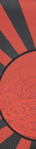 Okami Rising Sun Custom longboard griptape