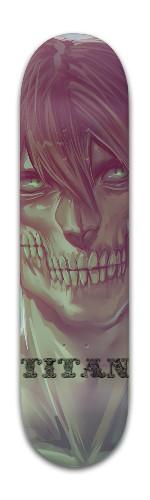 attack on titan erens tit Banger Park Skateboard 8 x 31 3/4