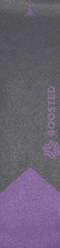 Boosted purple skin Custom longboard griptape