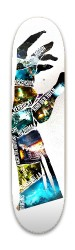 Zombie Chronicles Park Skateboard 8 x 31.775